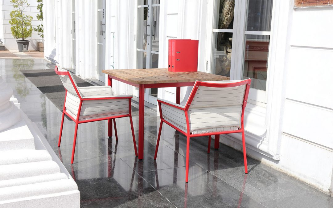 ANDY Dining Table & ANDY Dining Chair