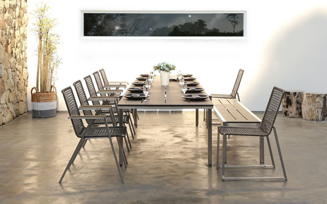 BAIA Extension Table & OLAF Dining Chair 2