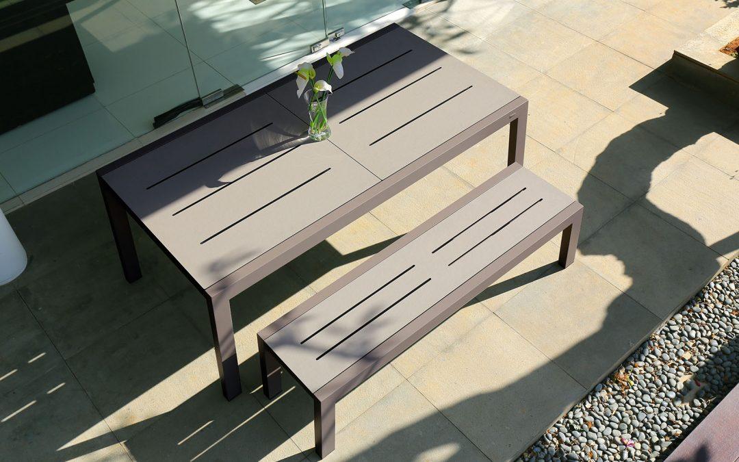 BAIA Extension Table & BAIA Bench