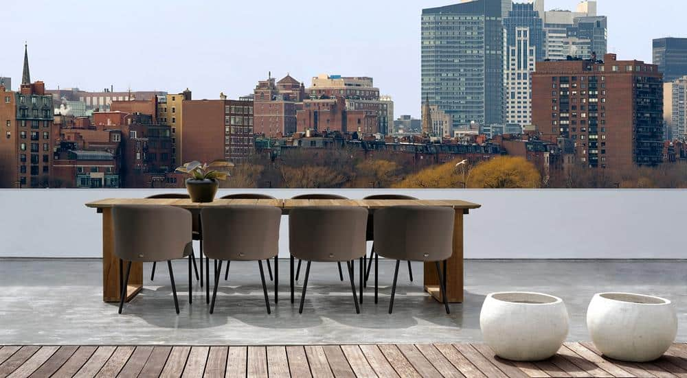 ZUPY DINING CHAIR & BIG DADDY DINING TABLE