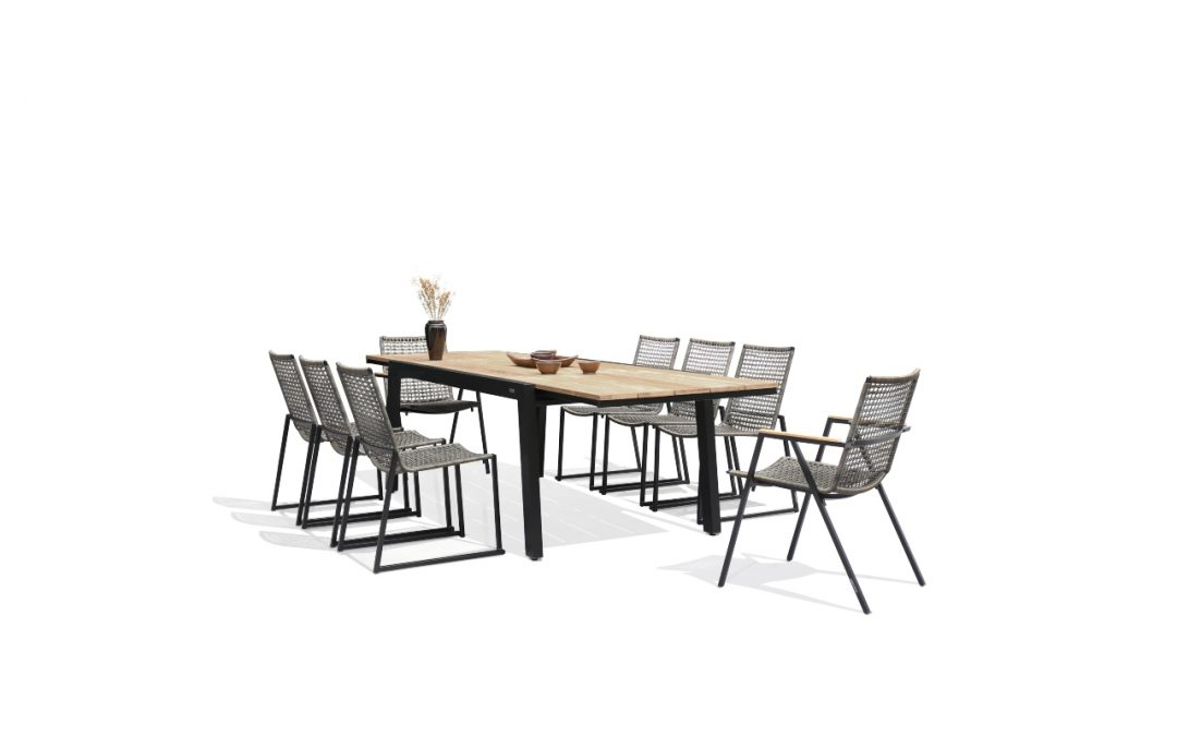 BAIA Extension Table & OLAF Dining Chair (a)