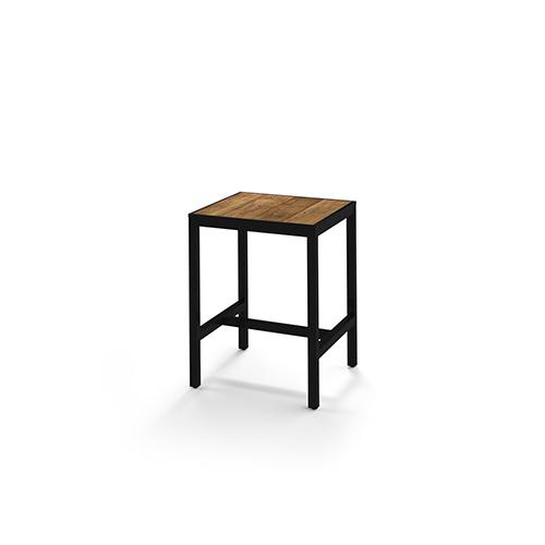 ALLUX Bar Table 80×80 cm (recycled teak)