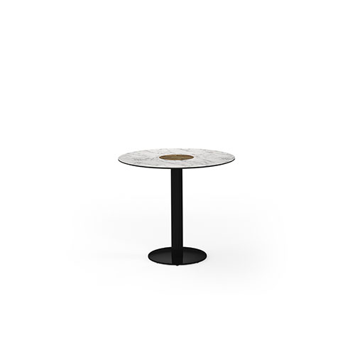 STIZZY Pedestal Dining Table 89 cm