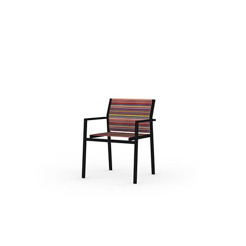 STRIPE Stackable Armchair
