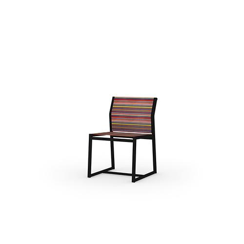 STRIPE Carver Side Chair