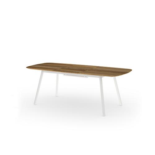 ZUPY Ext table (Teak) 165-216×100 cm