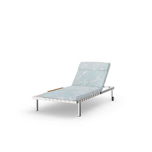 ALBATROSS Multiposition Sunbed with Side Tray (316)