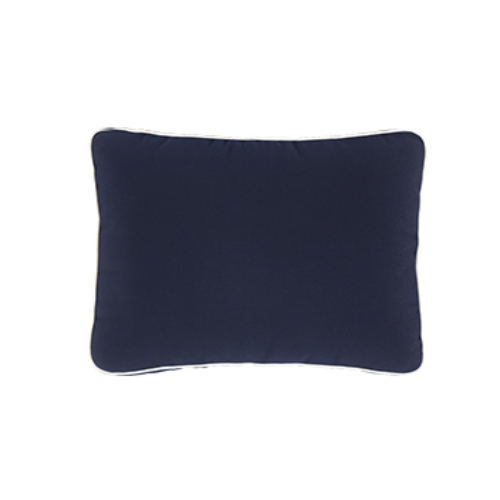 BOX Pillow – with contrasting piping
