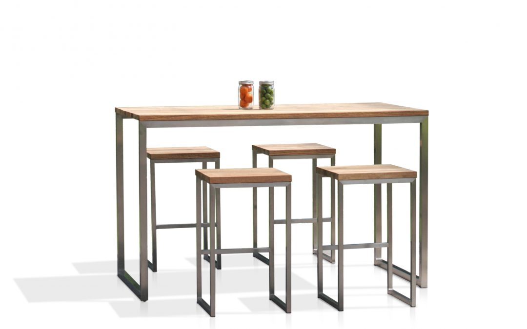 OKO HIGH TABLE & HIGH STOOL