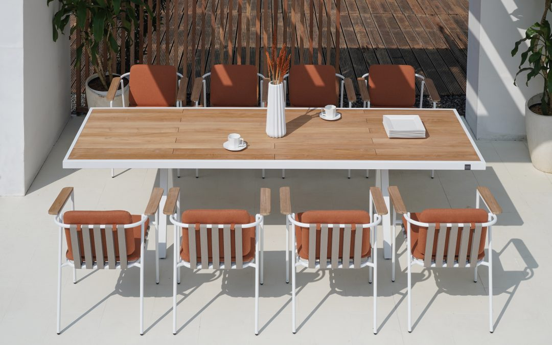 ALBATROSS Table Rectangular and Chairs