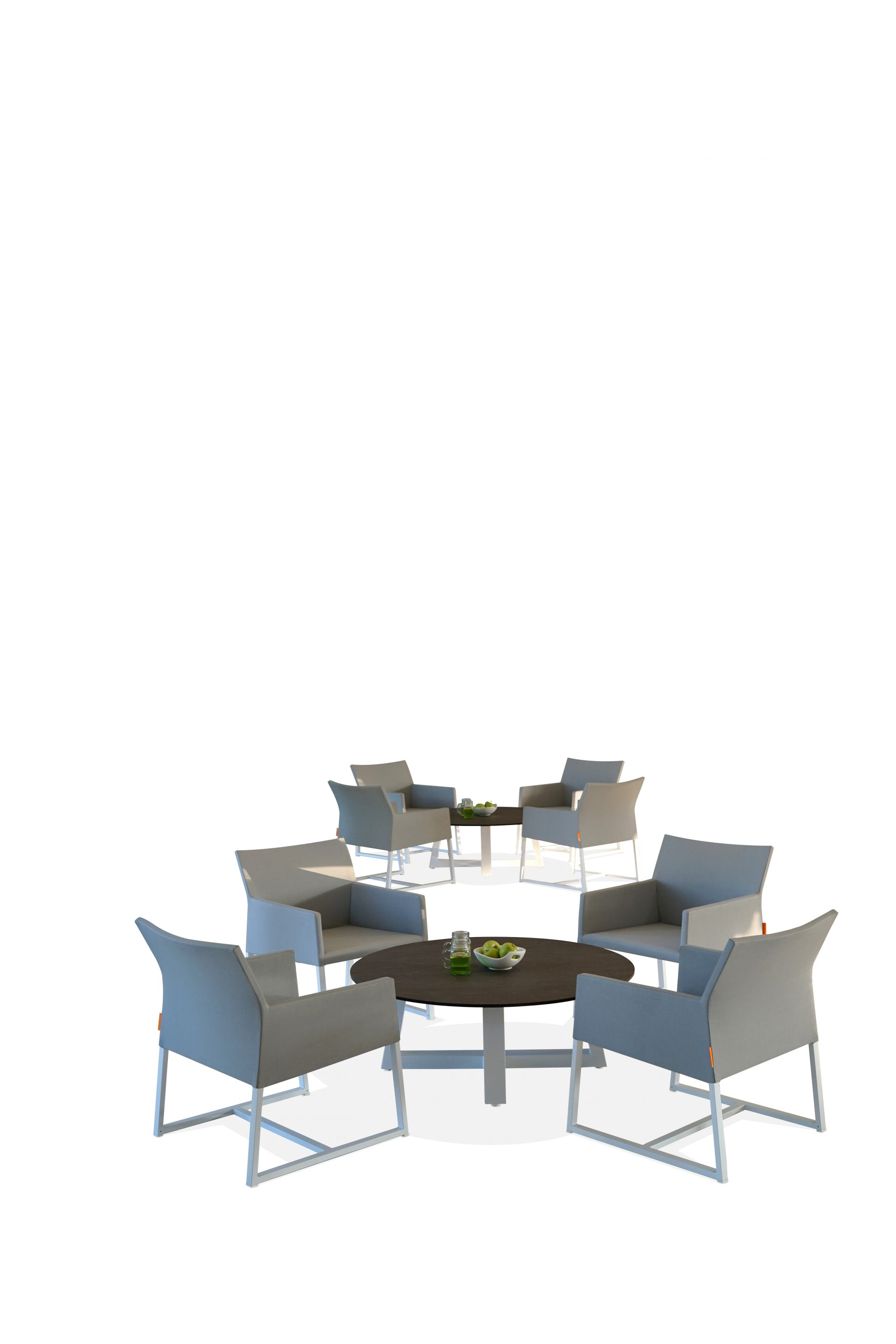 MONO CASUAL CHAIR LOUNGE TABLE