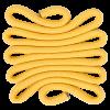 Weaving - rope-canary - CS.W34 - 10 x 10 x 0,3 cm (4