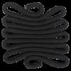 Weaving - rope-raven - CS.W33 - 10 x 10 x 0,3 cm (4