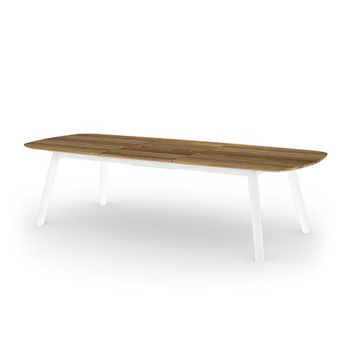 ZUPY Ext table large (Teak) 244-295×120 cm